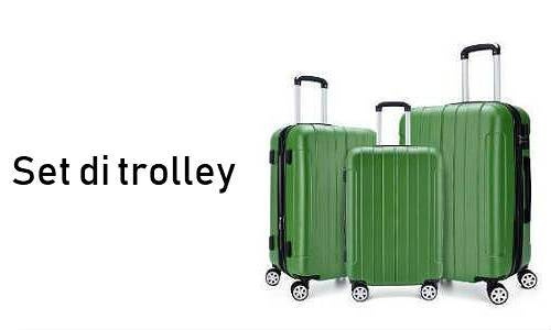 Set di trolley